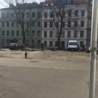 Baustelle JNV - Abbrucharbeiten Tag 1