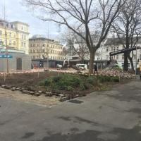 Baustelle JNV - Beginn