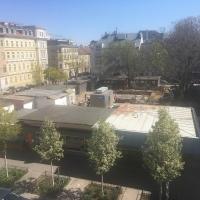 Baustelle JNV - Blick von oben