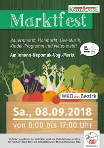 Programmflyer Marktfest 1