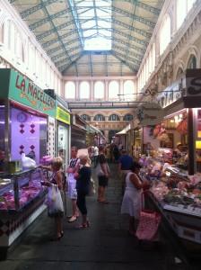 Markthalle in Livorno (ital)